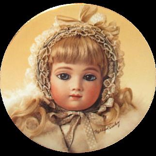 Beautiful A.T doll plate