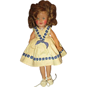 Adorable Ideal Shirley Temple doll