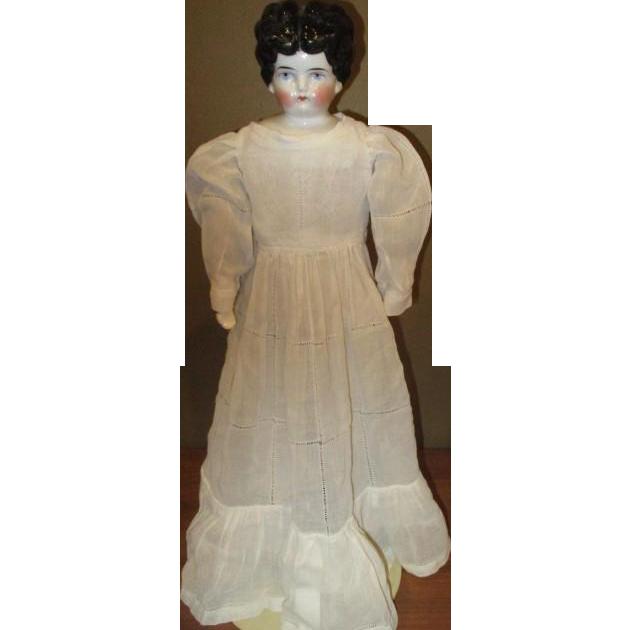 Beautiful china head doll