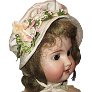 Pretty hat for larger doll