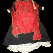 Rare antique  Catholic priest clothing