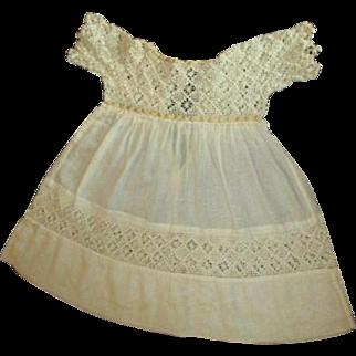 Dress crochet top