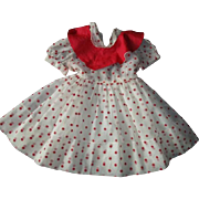 Wonderful large polka dotted dress