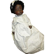 Beautiful black bisque doll