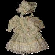 Lavish beautiful dress and hat