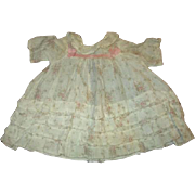 Darling large doll dress