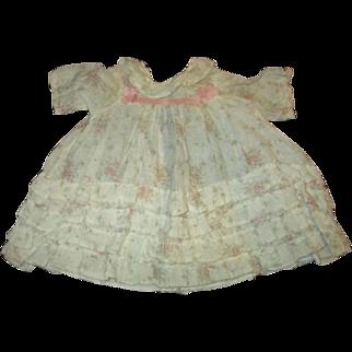 Darling large doll dress