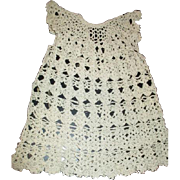 Sweet dress crocheted