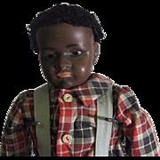 Adorable black boy by clarmaid