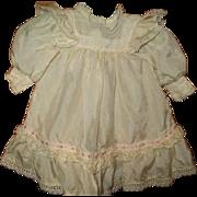 Beautiful silk doll dress