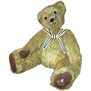 Adorable artist mohair teddy bear