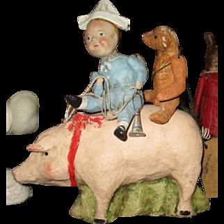 Debbee Thibault Piggy back ride