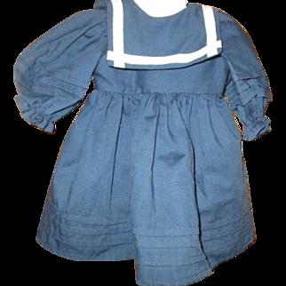 Adorable Sailor dress for doll or Teddy