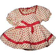 Adorable tiny Shirley Temple dress