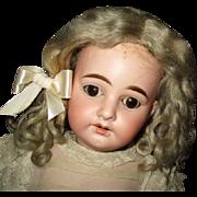 "Gorgeous antique mohair wig 12"""