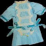 Wonderful small doll French pattern Dress