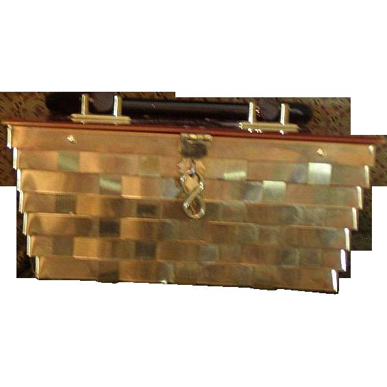 Vintage lucite purse by Dorset Rex Fifth Avenue