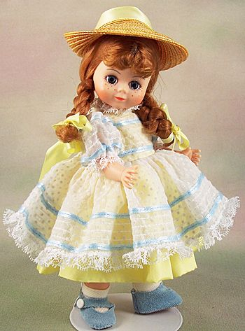 Madame Alexander Doll Club Special Quot Polly Pigtails Quot From