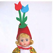 First Version Madame Alexander Flower Pot Munchkin doll