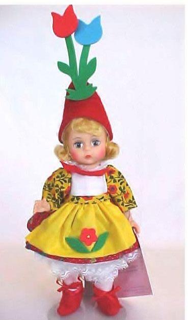 First Version Madame Alexander Flower Pot Munchkin doll