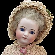"""11"""" Sonneberg Bisque Head Doll"""