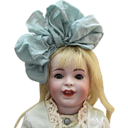 "13"" S.F.B.J. 236 French Bisque Character Doll"