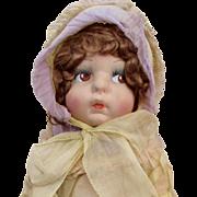 "18"" Eugenie Poir French Cloth Doll of Princess Margaret"