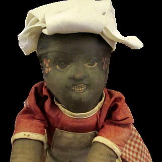 Rare Bruckner Mammy Pull Toy 1930s