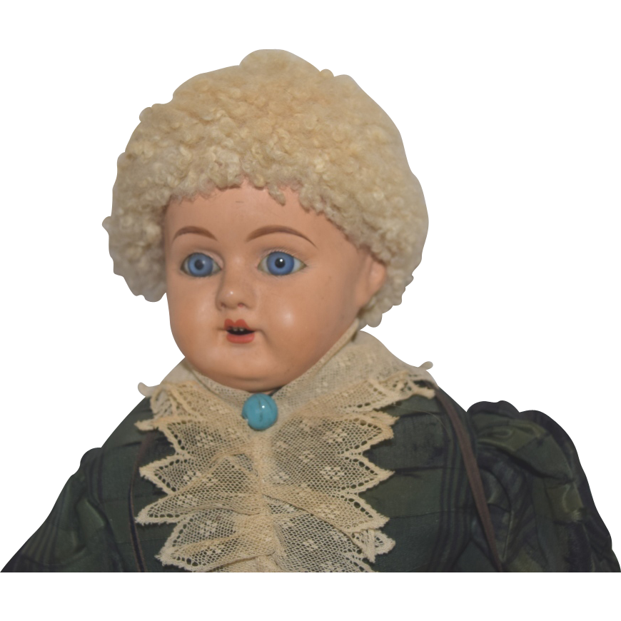 Schilling German Papier Mache Composition Lady Doll