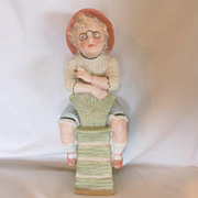 Gebruder Heubach German Bisque Figurine of Young Boy