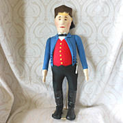 Limited Edition Steiff Felt Doll Replica of the Peasant Jorg