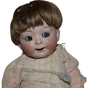 Hertel Schwab Bisque Head Jubilee Googly Eye Baby in Original Condition
