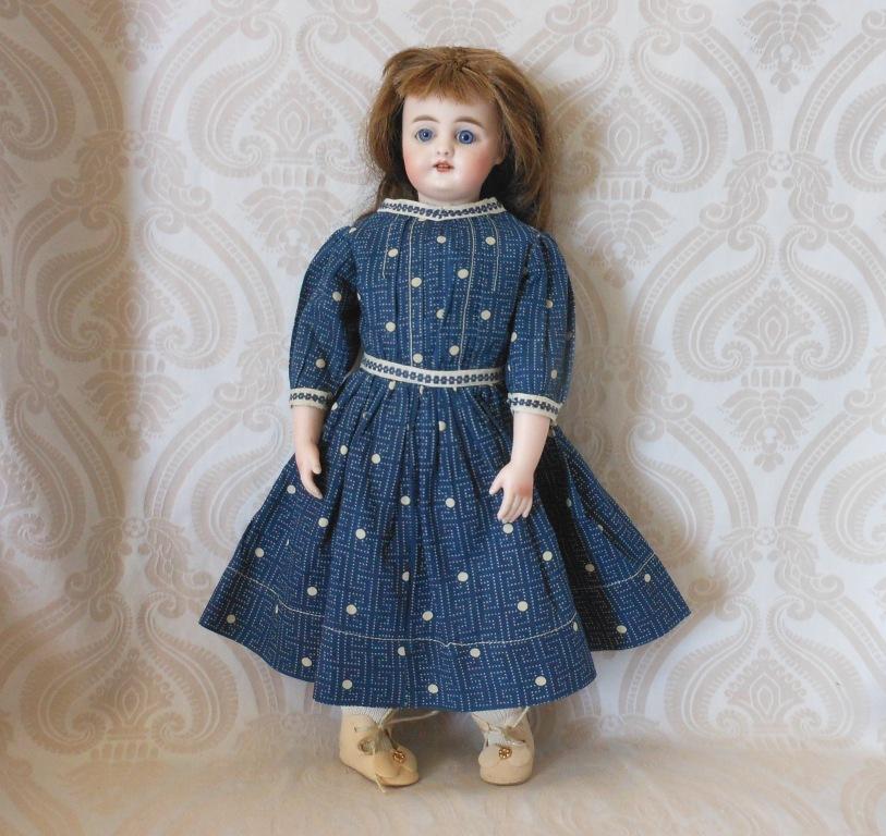 Simon & Halbig German Bisque Head 949 Character Doll