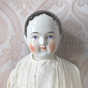 Kestner Glazed Porcelain China Head Kinderkopf (Child Head) Doll
