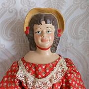 Becky Thatcher Vintage Porcelain Doll