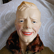 """Our Lindy"" Composition Doll Depicting Charles Lindbergh by the Regal Doll Manufacturing Company"