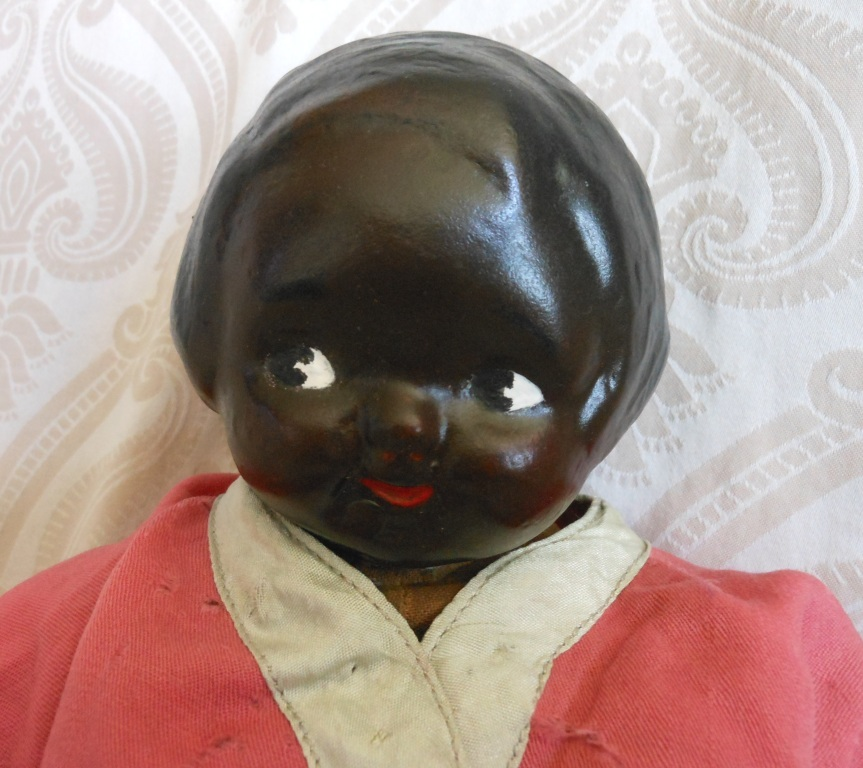 Black Campbell Kid Composition Doll