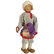 Russian Stockinet Gentleman Doll