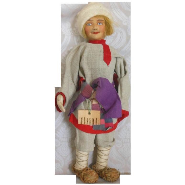 Russian Stockinet Gentleman Doll
