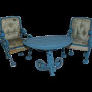 Victorian Beaded Furniture Set