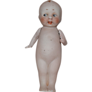 All Bisque German Doll with Side Glancing Eyes