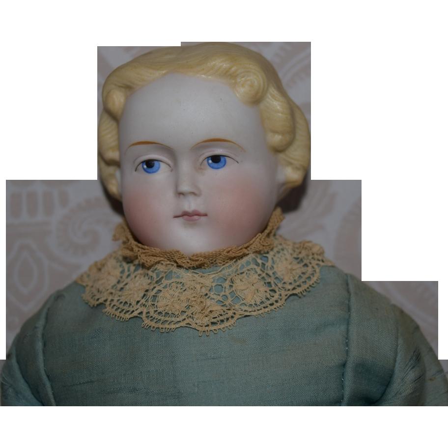 Simon & Halbig German Bisque Head Lady Doll