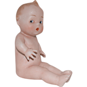 Gebruder Heubach German All Bisque Character Position Baby