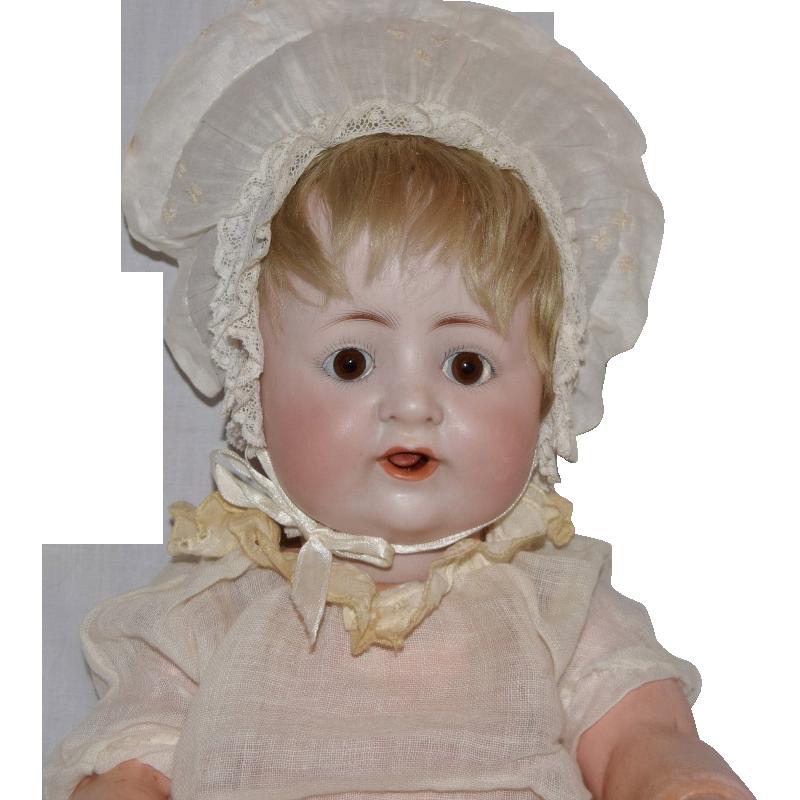 Bergman German Bisque Head Baby Doll
