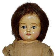 German Papier Mache Composition Doll