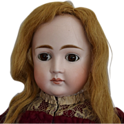 Early Kestner German Bisque Closed Mouth Doll