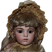 French Bisque Bru Jne 6 Doll with Chevrot Body