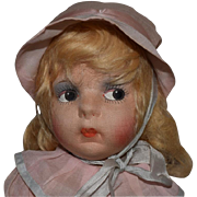 All Original French Cloth Gre-Poir Doll