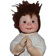Artist Dianne Dengel Cloth Praying Child