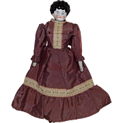 German China Head Doll by Hertwig